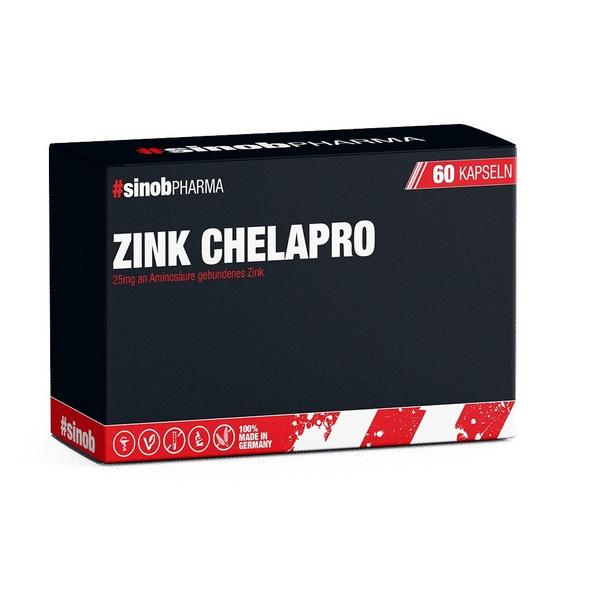 BlackLine 2.0 Zink Chelapro 60 Kapseln