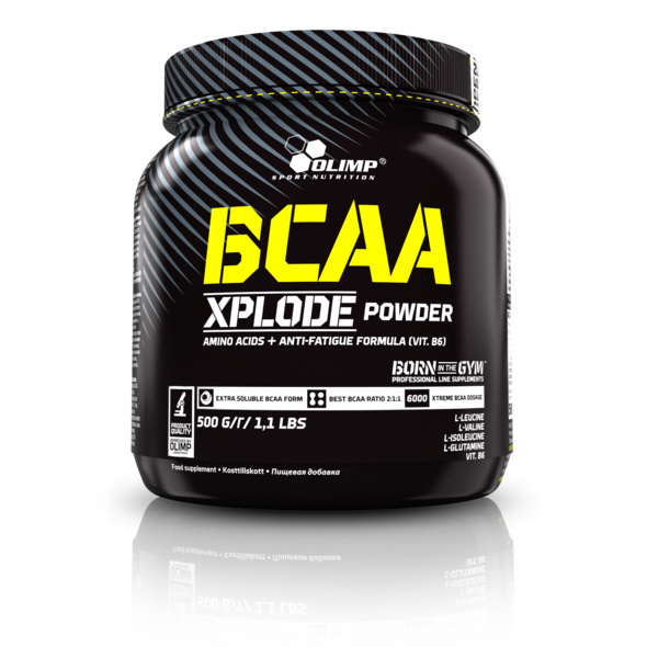 Olimp Sport Nutrition BCAA X-Plode 500g Dose-Orange