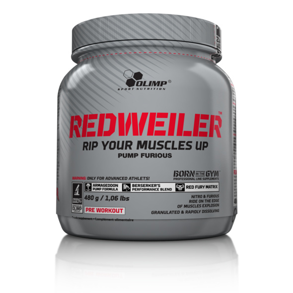 Olimp Redweiler 480g-Red Punch