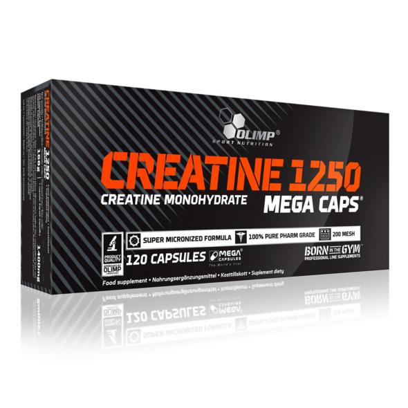 Olimp Creatine Mega Caps 1250 120 Kapseln