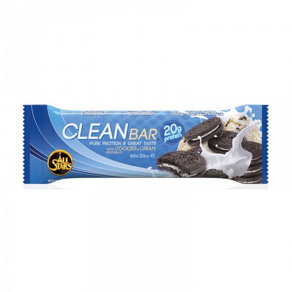 All Stars Clean Bar 60g-Peanut Butter Chocolate