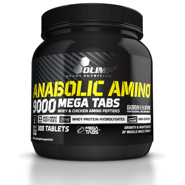 Olimp Anabolic Amino 9000 - 300 Tabletten