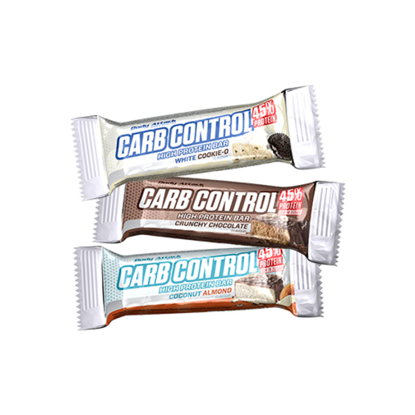 Body Attack Carb Control Riegel 40g-Coconut Almond
