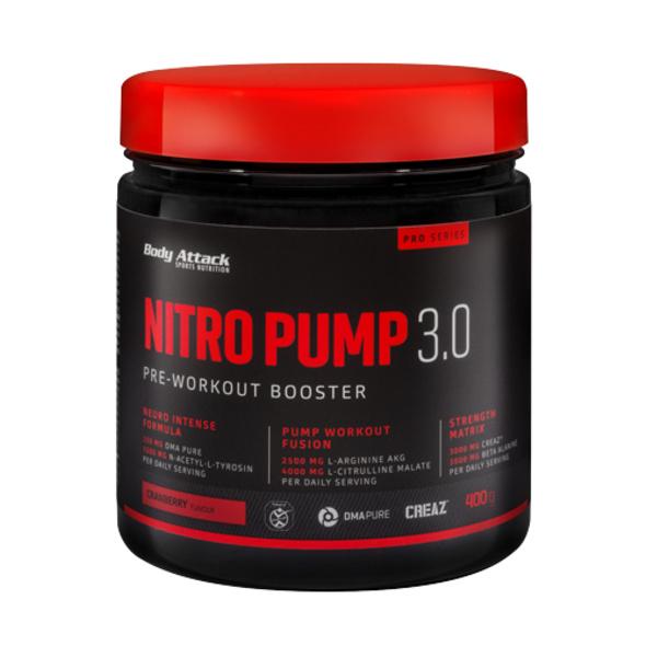 Body Attack Nitro Pump 3.0 400g-Cranberry