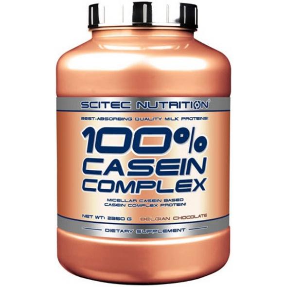 Scitec Nutrition 100% Casein Complex 2350g-Belgische Schokolade