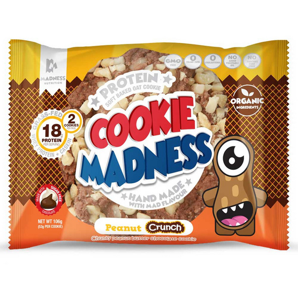 Madness Nutrition Cookie Madness 106g-Banana Chunky Monkey