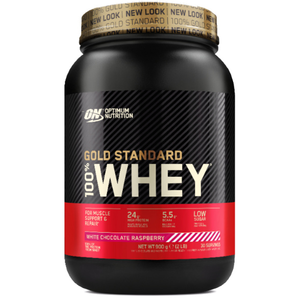 Optimum Nutrition 100% Whey Gold Standard 908g-Strawberry