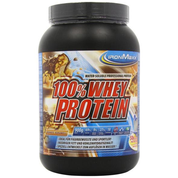 IronMaxx 100% Whey Protein 900g-Milchschokolade