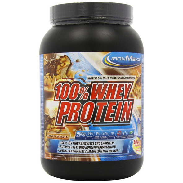 IronMaxx 100% Whey Protein 900g-Orange-Maracuja