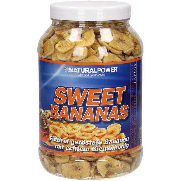 Natural Power Sweet Bananas 850g