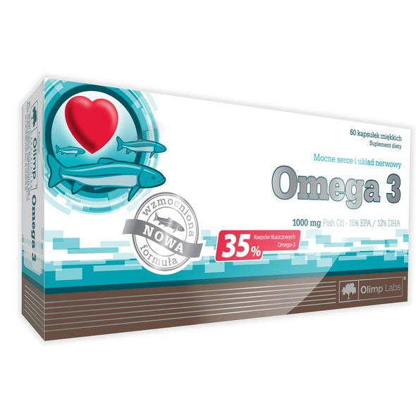 Olimp Omega-3-Fettsäure 60 Kapseln