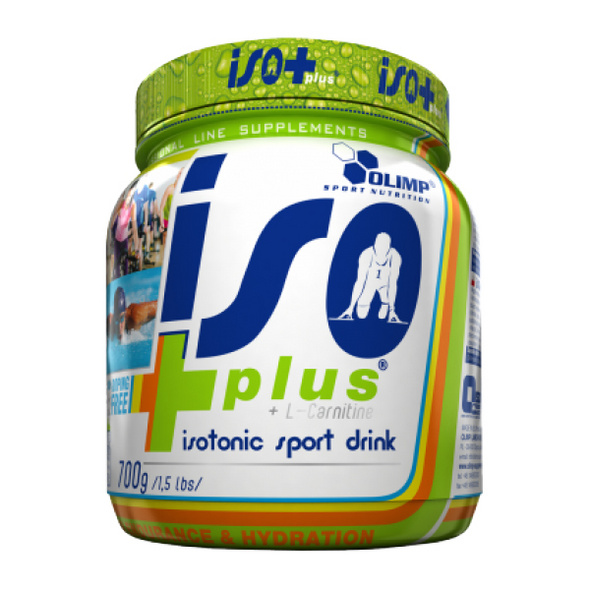 Olimp ISO plus 700g Dose-Tropic Blue