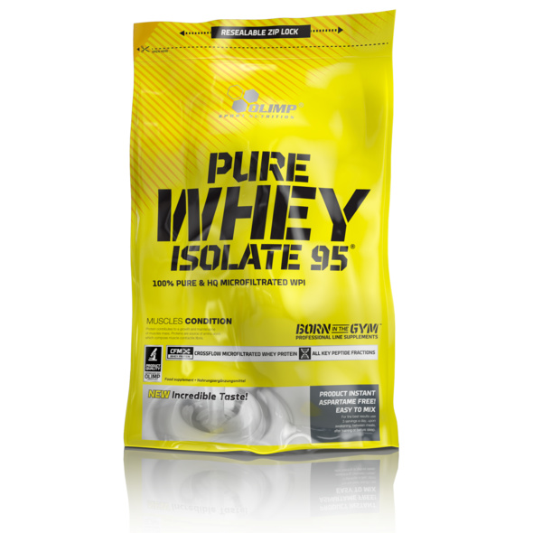 Olimp Pure Whey Isolate 95 600g-Cherry-Yoghurt Cream