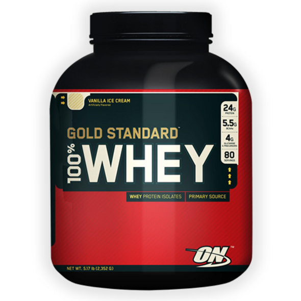 Optimum Nutrition 100% Whey Gold Standard 2270g-French Vanilla Cream