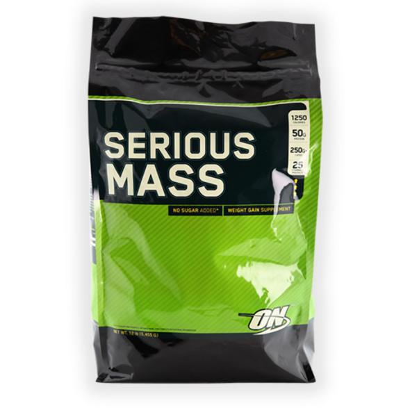 Optimum Nutrition Serious Mass 5440g-Vanilla