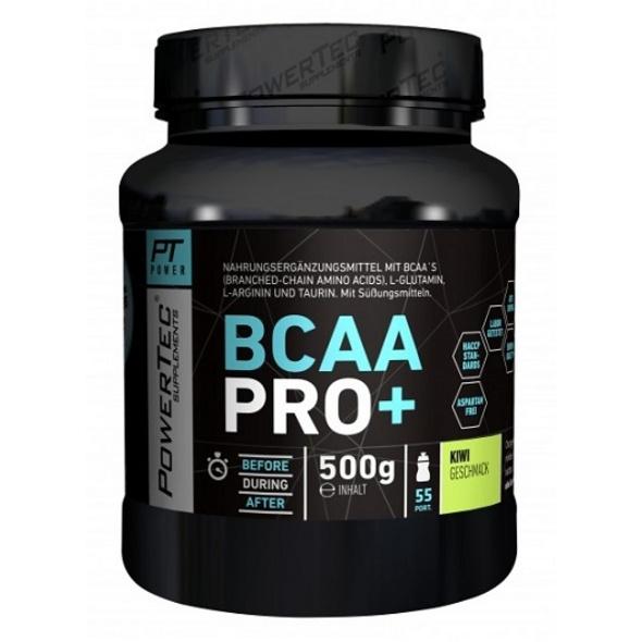 PowerTec BCAA Pro+ 500g-Kiwi