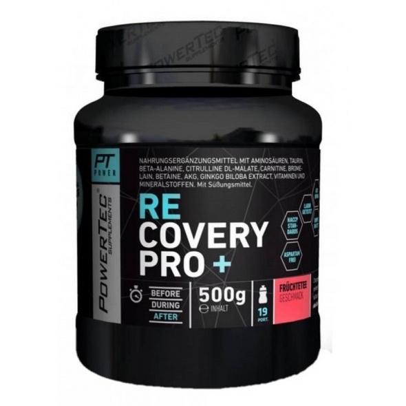 PowerTec Recovery Pro+ 500g -Früchtetee
