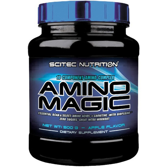 Scitec Nutrition Amino Magic 500g-Apfel