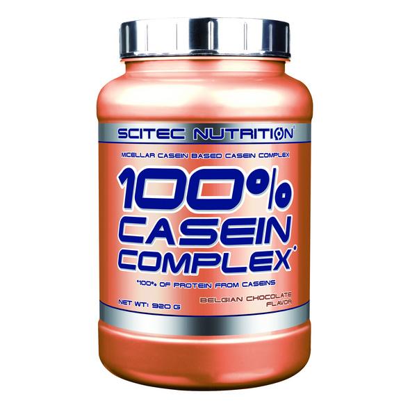 Scitec Nutrition 100% Casein Complex 920g-Belgische Schokolade
