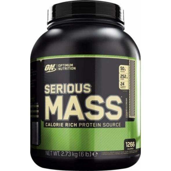 Optimum Nutrition Serious Mass 2727g-Chocolate