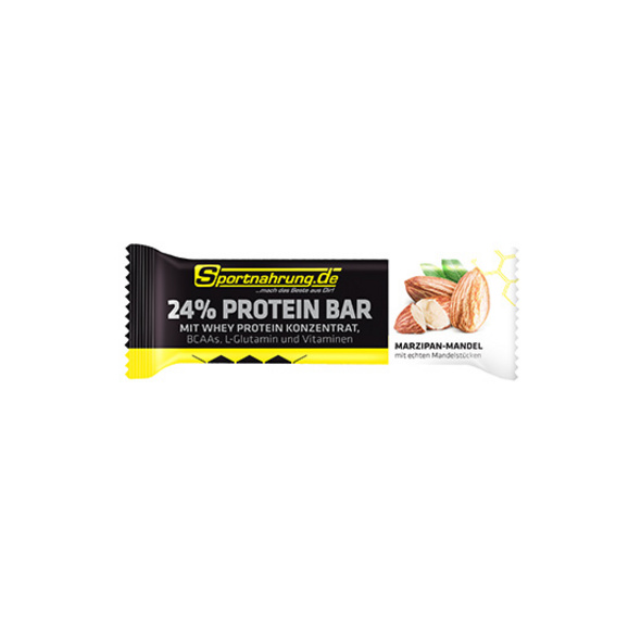 Sportnahrung.de 24% Protein Riegel 40g-Marzipan-Mandel