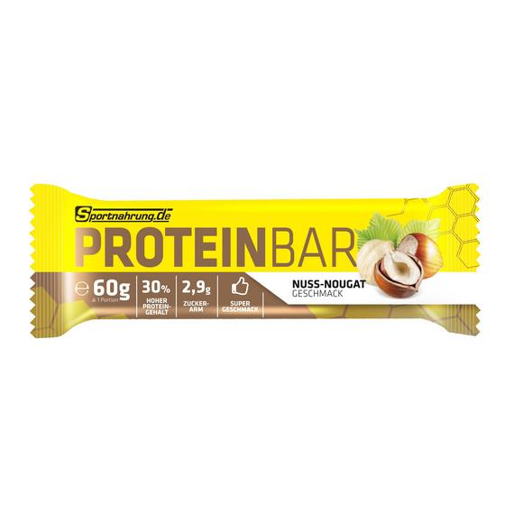 Sportnahrung.de Proteinbar 60g-Nuss-Nougat