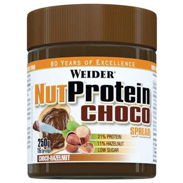 Weider Nut Protein Choco Spread 250g-Schokolade Haselnuss