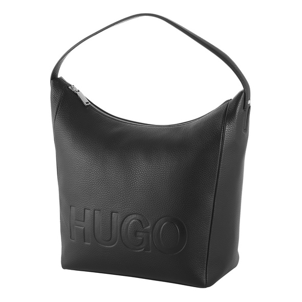 Hugo Boss Beuteltasche Mayfair Hobo schwarz