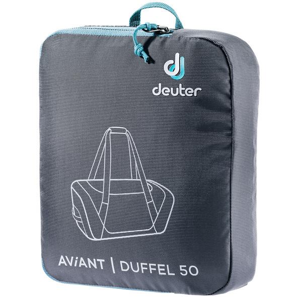 Deuter Reisetasche Aviant Duffle 50l schwarz
