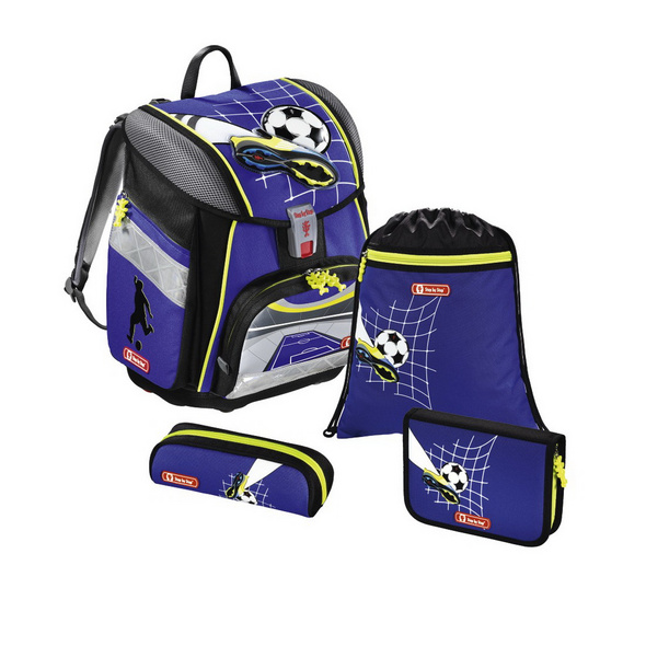 Step by Step Schulranzen-Set 4tlg. Jungen Touch 2 Soccer Team