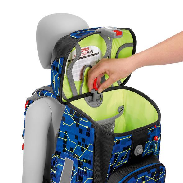 Step by Step Schulranzen-Set Jungen 5-tlg. Cloud Future Robot