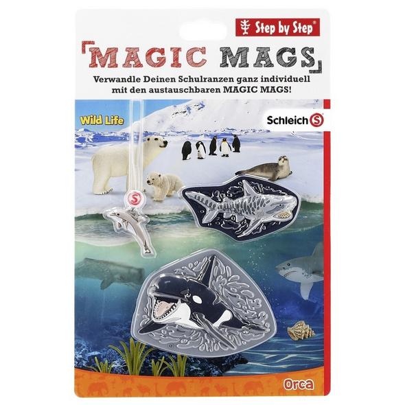 Step by Step Ergänzungsset Magic Mags Schleich Wild Life Orca