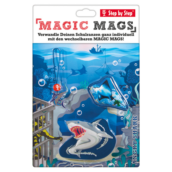Step by Step Ergänzungsset Magic Mags Angry Shark