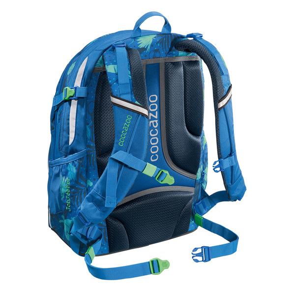 coocazoo Schulrucksack JobJobber 2 Match Patch 30l tropical blue