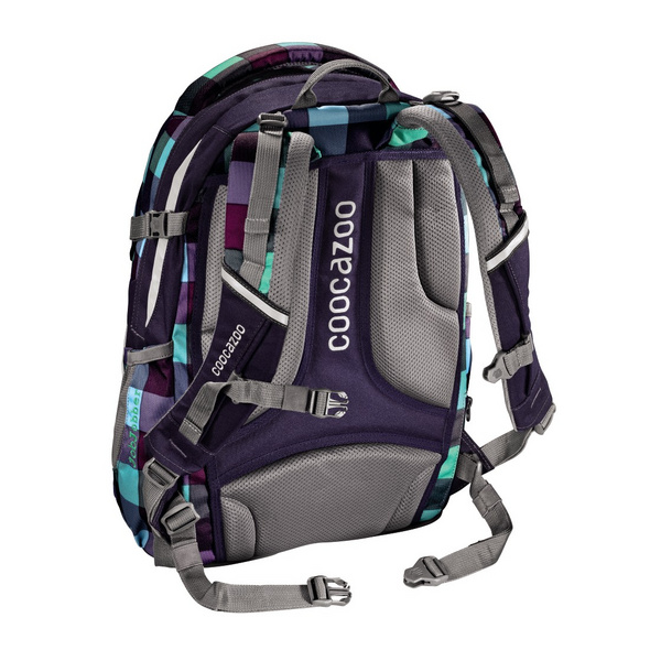 coocazoo Schulrucksack JobJobber 2 30l Green Purple District
