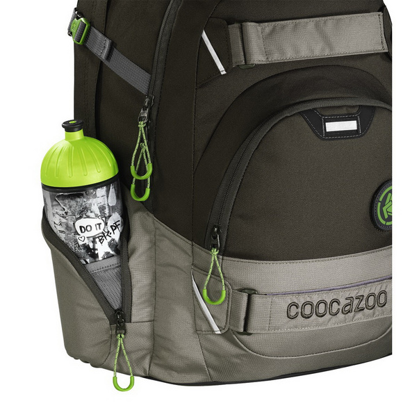 coocazoo Schulrucksack Carry Larry 2 Match Patch 30l woodsman
