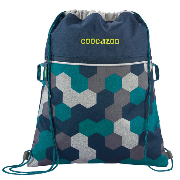 coocazoo Turnbeutel Rocket Pocket 2 blue geometric melange