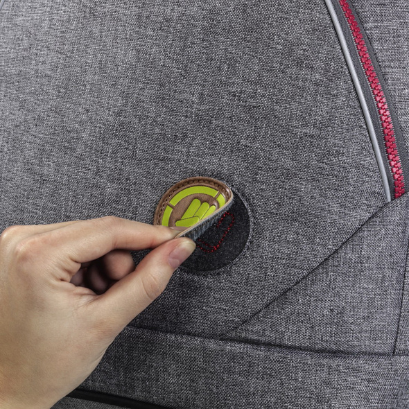 coocazoo Ergänzungsset Kunstleder MatchPatch lime punch