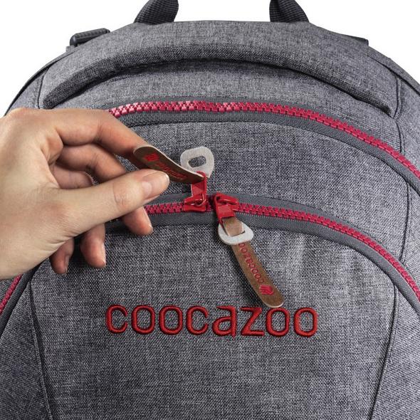 coocazoo Ergänzungsset Kunstleder MatchPatch hibiscus