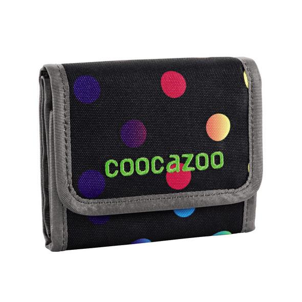 coocazoo Klettverschlussbörse CashDash polka colorful