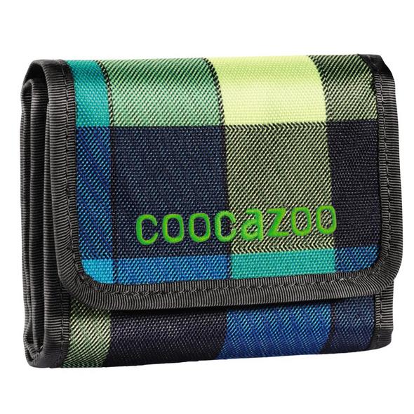 coocazoo Klettverschlussbörse CashDash lime