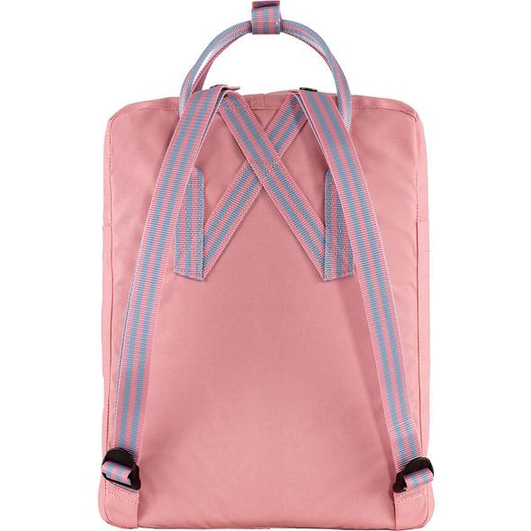 Fjällräven Rucksack Kanken 16l pink-long stripes