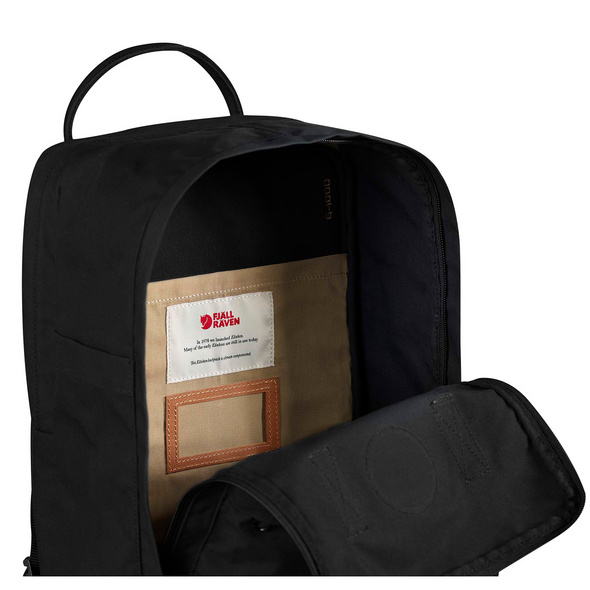 "Fjällräven Laptop Rucksack No.2 15"" schwarz"
