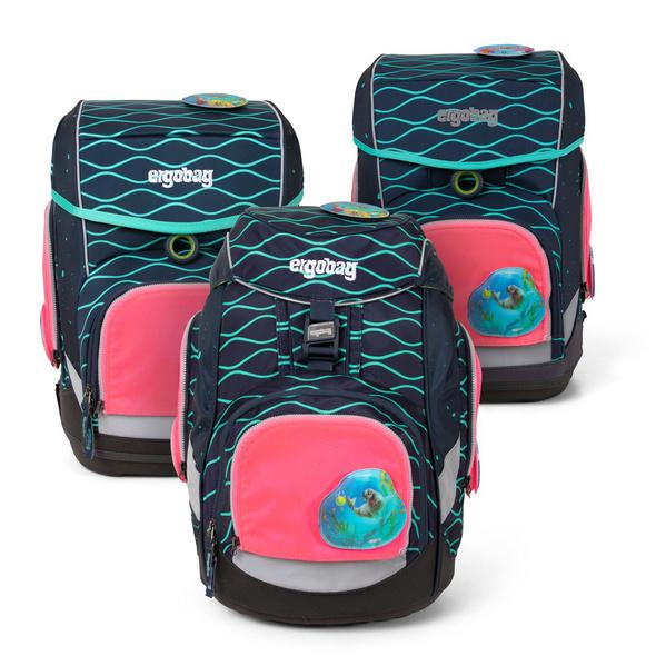 Ergobag Universal Sicherheitsset Pack, Cubo, Cubo Light (ab 2020) pink