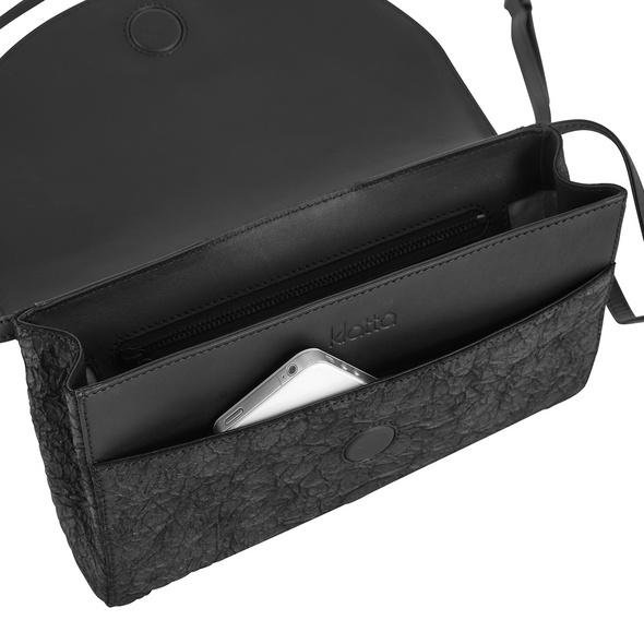 Klatta Clutch black paper