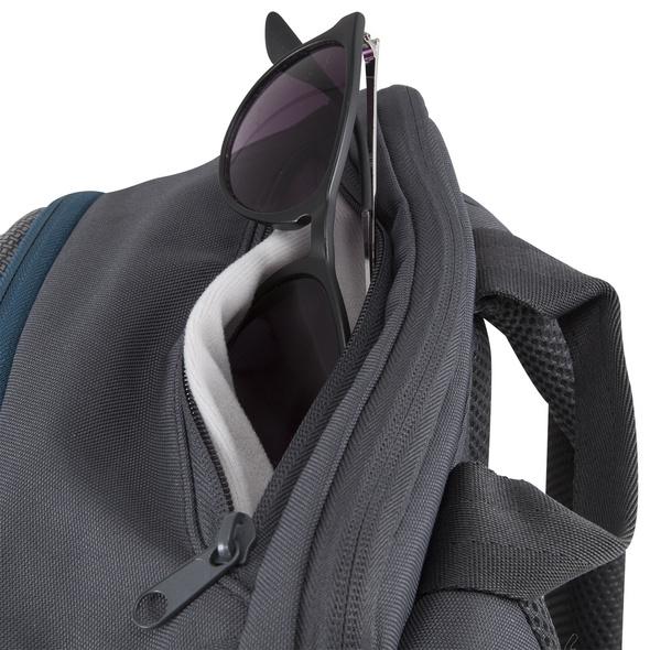 Aevor Rucksack Bookpack 26l grau, lila, petrol