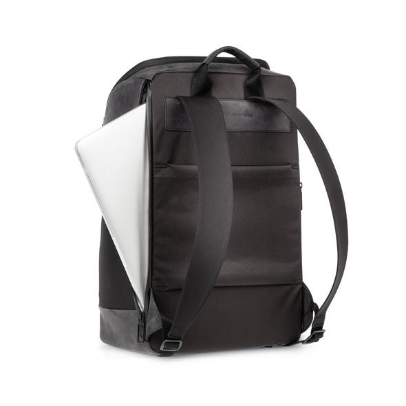 "Salzen Laptoprucksack Sleek Line Alpha 15,6"" charcoal black"