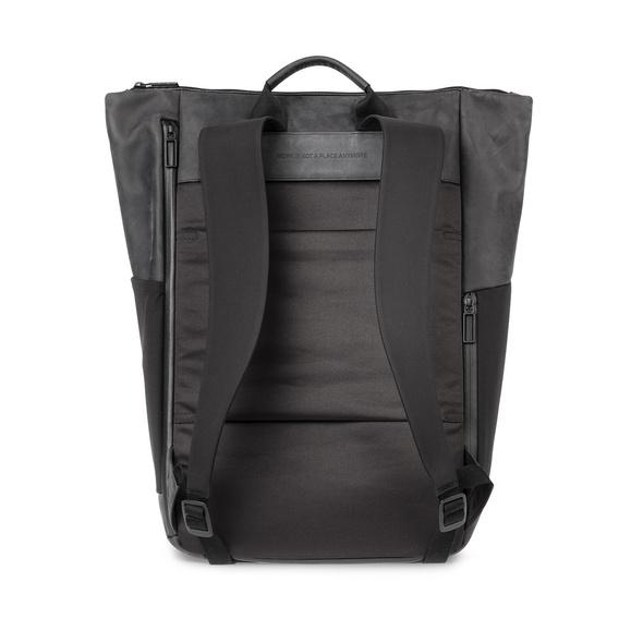 "Salzen Laptoprucksack Sleek Line Plain 15,6"" charcoal black"