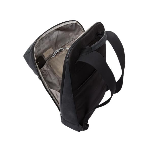 Salzen Rucksack Sleek Line Fabric Daypack charcoal black