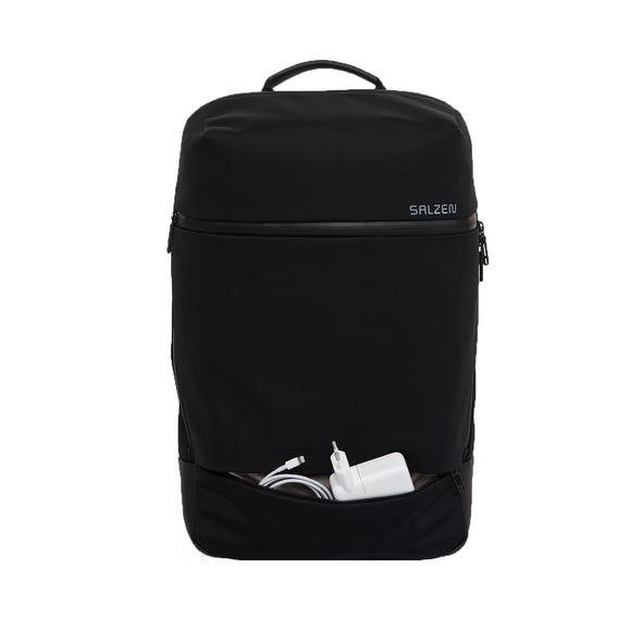 Salzen Rucksack Sleek Line Fabric Daypack phantom black